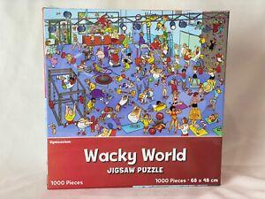 Wacky World - Gymnasium 1000 Piece Jigsaw Puzzle 68cm x 48cm