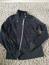 Adidas Respect Me Black Moleskin Jacket Size Small