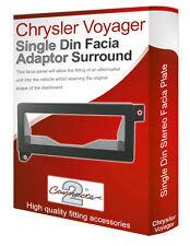 Chrysler Voyager Radio Estéreo Fascia Facia Adaptador Panel Placa Recortar Envolvente De Cd