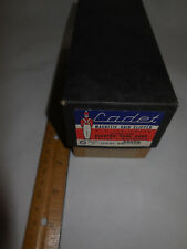 Vintage Cadet Magnetic Hair Clipper ( Box Only ) Model G - AC 110  '50s U.S.A.