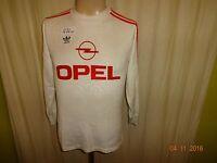 "FC Bayern München Original Adidas Langarm Auswärts Trikot 1990/91 ""OPEL"" Gr.S"