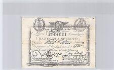 ITALIE 10 PAOLI 7.7.1798 N° 1911 PICK S 525