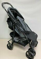 Nania Texas leichter Buggy Kinderwagen bis 15 kg schwarz grau FP7510 AS
