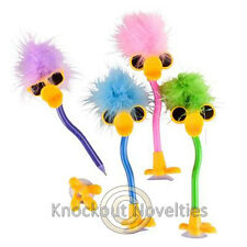 Dozen Feather Duck Pen with SunglassesFavor Party Gift Bag Fillers Assortment