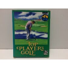 Top Player's Golf SNK Neo Geo AES Jap No Manual
