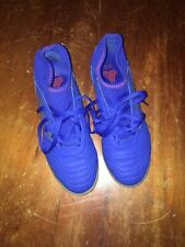 Adidas Predator 19.3 Indoor / Turf Soccer Shoes Cleats Blue Kids 5.5