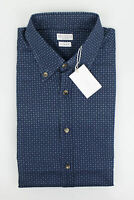 NWT BRUNELLO CUCINELLI Blue Cotton Short Sleeve Casual Shirt Size 48/38/S $575