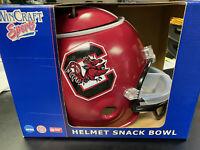 NCAA South Carolina Gamecocks Deluxe Snack Helmet - Red -  Brand New