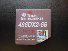 1 TEXAS INSTRUMENTS 486DX2-66`  VINTAGE CERAMIC CPU FOR GOLD SCRAP RECOVERY RARE