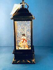 Snowman Snow Globe Lantern