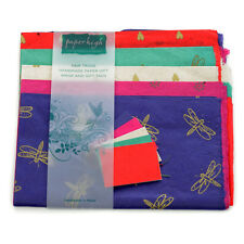 Commercio equo carta Lokta cinque fogli regalo Wrap Pack gwp115