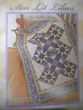 New listing Star Lit Lilacs Quilt Fabric Kit by Debbie Beaves for Rjr Fabrics Heirloom Lilac