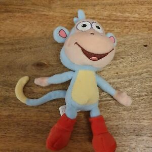 "Ty Beanie Boots The Monkey From Dora The Explorer 8"" Mint Condition"