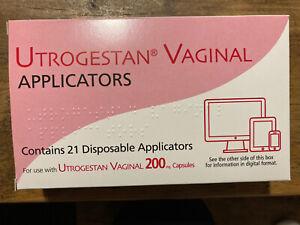 Utrogestan vaginal Applicators