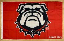 New listing University of Georgia Bulldogs 3x5 ft Flag Ncaa