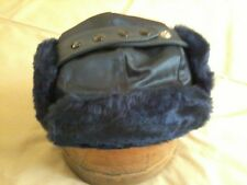 Trooper Hat, Antron Nylon/Pile, Navy, Size M (7-1/8) , NEW, Langenberg Hat, USA