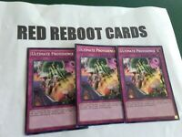 3x Ultimate Providence Secret Rare yugioh mint