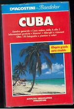 CUBA DE AGOSTINI BAEDEKER 2000 VIAGGI GUIDE