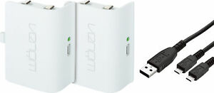 Venom Xbox One Controller Rechargeable Battery Twin Pack - White - VS2860R