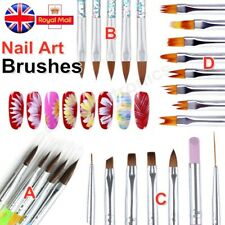 Nail Art Brushes Design Painting Dotting Detailing Nail Pens Brushes Kit Tools
