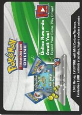 POKEMON PROMO CODE CARD FROM THE 2017 SHINING LEGENDS ELITE TRAINER BOX