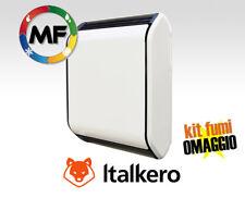 RADIATORE A GAS STUFA CONVETTIVA ITALKERO POSTER SP 50 4,3 KW GPL o MET KIT FUMI