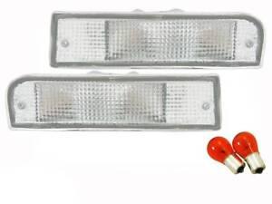 Front Bar Indicator Lights suits Toyota 4 Runner & Surf 91-97 LN130 92-95 Hilux