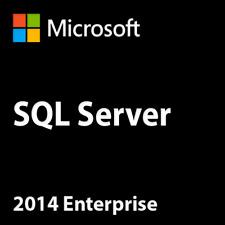SQL Server 2014 Enterprise 24 Cores Unlimited CAL Product Key/ 30 Sec Delivery