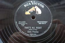 ELVIS PRESLEY 78 RPM THAT'S ALL RIGHT / BLUE MOON OF KENTUCKY US RCA 20-6380