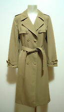 CULT VINTAGE '70 Cappotto Donna Trench Donna Woman Cotton coat Sz.M - 44