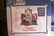 LEMAX CAROLE TOWN TARA'S TRACE HOUSE (2005) CHRISTMAS VILLAGE BUILDING MIB