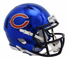 NFL Chicago Bears Chrome Alternate Speed Mini Helmet Unisex Fanatics