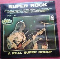 Super Rock Vol. 4 / Nicky Hopkins LP Vinyl 1975 Lovin' Up A Storm / Dixie uvm