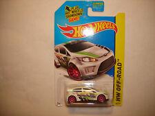 2014 Hot Wheels HW OFF-ROAD Secret Treasure Hunts '12 Ford Fiesta FREE SHIP VHTF