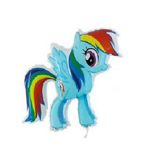 "32"" My Little Pony Helium Balloon - Rainbow Dash- (CS165)"