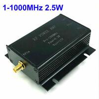 1-1000MHz 2.5W HF VHF UHF FM Transmitter RF Power Amplifier AMP For Ham Radio