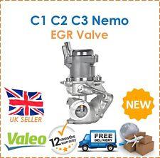 Per CITROEN C1 C2 C3 NEMO VALEO ELETTRICO VALVOLA EGR 9673258680 NUOVE 1618N8