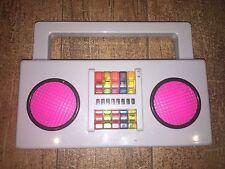 Yo Gabba Gabba Music Boom Box Radio Playset DJ Lance 2009 Spin Master