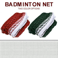 Badminton Tennis Volleyball Net Mesh Beach Garden Indoor Outdoor Games Red Green