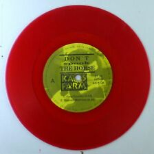"7"" Single - Don't spook the Horse - Kaos Farm - S2947 - red Vinyl, RAR - cleaned"