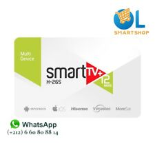 ✅ IPTV Smart plus 12 Mois vision clever echosonic digiclass euroview samsat -