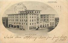Vignette Postcard Santa Rita Hotel Tucson AZ