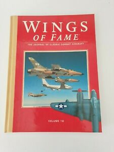 Book Hardcover -Wings Of Fame -Volume 18- The Journal of Classic Combat Aircraft
