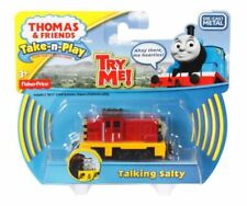 TAKE n PLAY TALKING SALTY Die-Cast Thomas Tank Fisher Price Along BRAND NEW