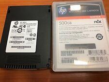 HP RDX Removable Hard Disk Cartridge Model# RDX - 500 GB / 500GB