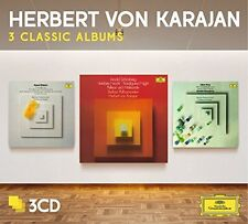 Herbert von Karajan - Three Classic Albums (Schoenberg/Berg/Webern) [New CD] Ltd