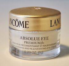 Lancome ABSOLUE EYE PREMIUM ΒX Replenish and Rejuven Eye Cream 6G $35 value