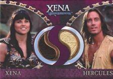 Xena Dangerous Liaisons Xena and Hercules Double Costume Card DC7