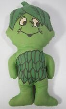 """Vintage Jolly Green Giant Little Sprout Plush Stuffed Advertising Doll Toy 13"""""""