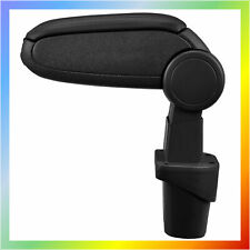 VW Touran (2003-2015) / Caddy (2003-2019) Centre Armrest Black Eco Leather New